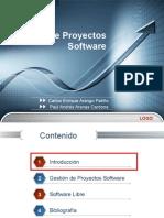 gestin de proyectos de software