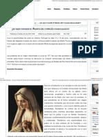 Corazon Inmaculado Maria Triunfo l.e. Lopez Padilla