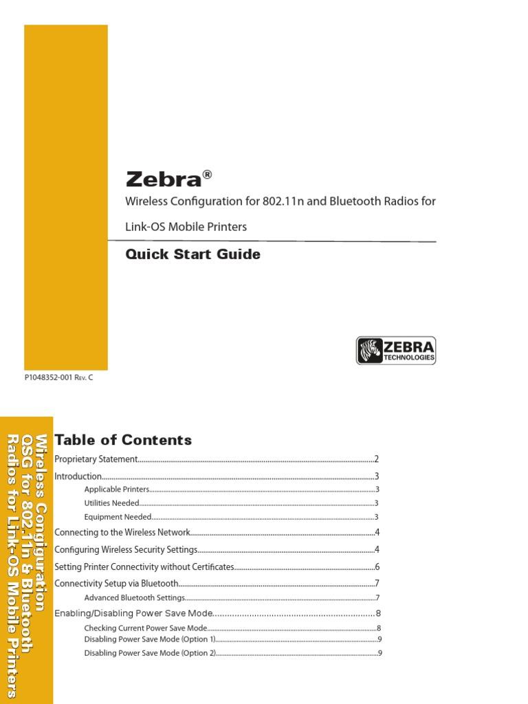 mobile-wireless-config-qsg-en pdf | Bluetooth | Wireless Lan