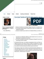 Exorciza Cardenal Sandoval La Nación Mexicana - Ultimos Tiempos