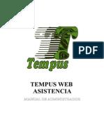 Tempus Web Asistencia - Administrador