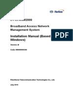 ANM2000 Installation Guide Version B