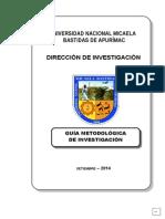 Guia Metodologica de Investigacion 20121