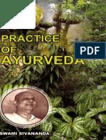 Practice of Ayurveda Swami Sivananda