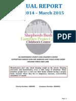 sbfp&cc annual report 2014-15