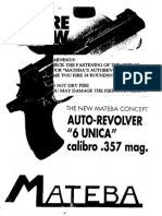 Mateba Unica 6 Semi Automatic Revolver Manual