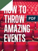 Libro Events Book