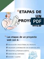 etapas de un proyecto web