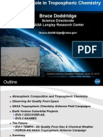 NASA's Role in Tropospheric Chemistry