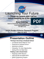 Launching Your Future - Preparing for Graduate School