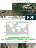 Scaling from Ground Observations to Ecosystem Processes with Remote Sensing and Modeling