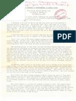 1958 Speech by Frank Newnam on Houston Roads