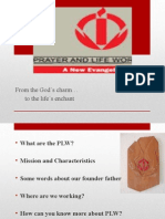 Prayer and Life's workshop Presentation