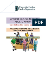 Atrofia Muscular en El Adulto Mayor