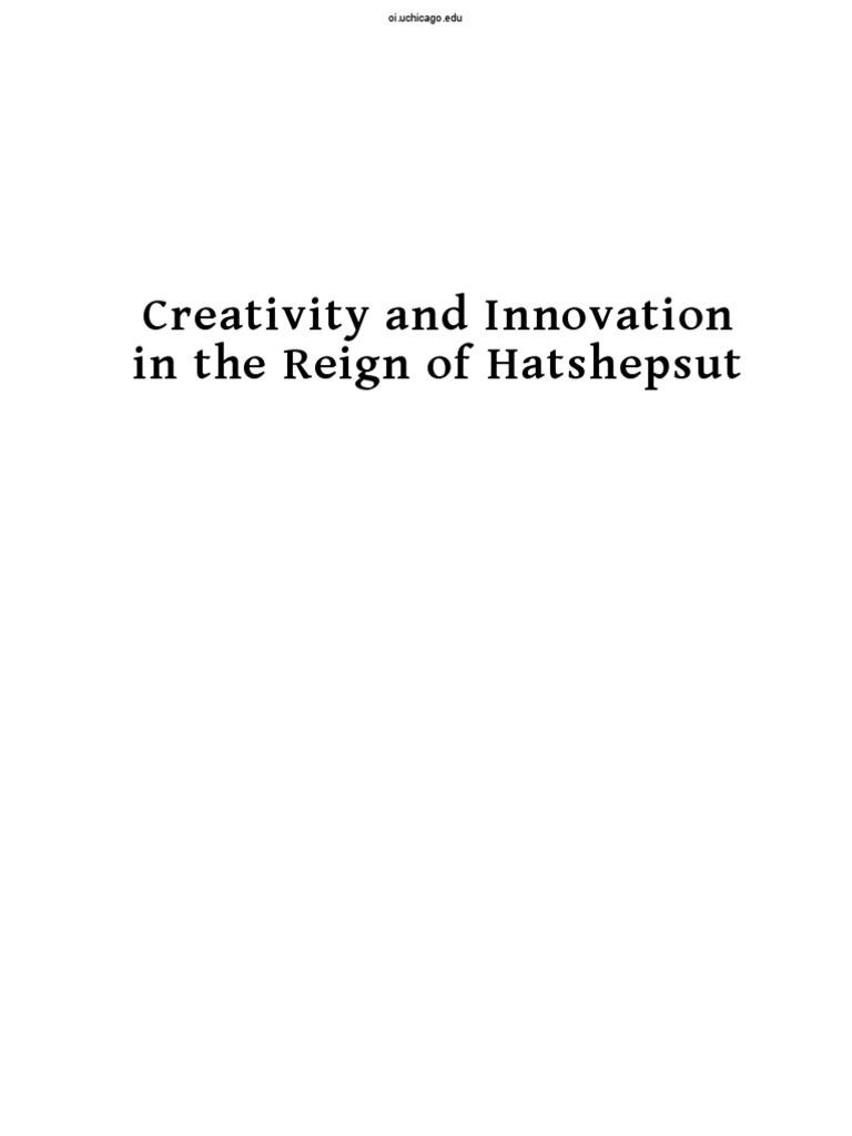 Steatite Plan De Travail critivity in the time of hatshepsut .pdf | hatshepsut