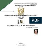 Glosario de Educacion a Distancia Guillermo Roquet