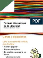 Ppt Formas Discursivas de La Identidad