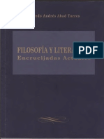 Abad - Filosofíia y Literatura, Encrucijadas Actuales
