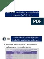 Proporcionamiento y Dosificacion PPT5