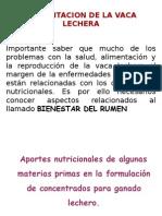 Alimentacion Vacas Lecheras 2015