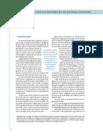 El Estudio de La Institucionalidad de Las Politicas Culturales de Los Gobiernos Locales Marcela Rebon(1)