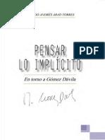 Abad - Pensar Lo Implícito en Torno a Gómez Dávila