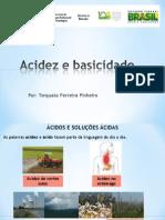 Aula de Acidez e Basicidade Projeto Visitação No IFF