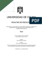 ATENCIÓN DE LA SALUD MENTAL EN UNA UNIDAD ONCOLÓGICA