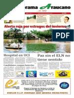 Periódico Panorama Araucano, edición 17 de 2015.