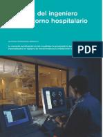 ingeniero en un entorno hospitalario