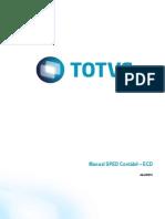 Manual ECD Alteracao Leiaute 3 00 Microsiga Protheus Abril 2015