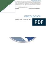 Bateria Psicometrica