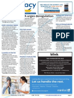 Pharmacy Daily for Wed 01 Jul 2015 - CMA urges deregulation, ASMI pushes voluntary labels, PSA Pain award, Health & Beauty and much more