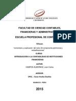 Comentario y Explicación Del Rubro 34 Componente Patrimonial y Reclasificaciones