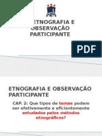 Etnografia e Observação Participante