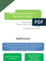 Malformaciones Ano-Rectales.ppt