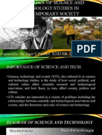 Importance of Science and Technology Studies in Contemporary
