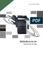 Bizhub 501 421 361 Ug Copy Operations Es 2 1 1