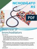 Bronchodilators