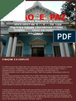 UNIÃO E PAZ - TROCA DE GESTÃO DA LOJA MAÇÔNICA ESTRELA UBERABENSE N°0941 - GOBMG