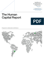 Human Capital Report 2013 - WEF