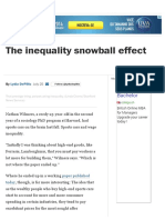 The Inequality Snowball Effect - The Washington Post