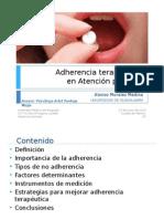 Adherencia Terapéutica en AP