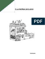 Análisis de Las Líneas Estratégicas Del Programa de Gobierno 2013