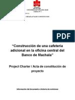 Acta de Constitucion Del Proyecto (ficticio)