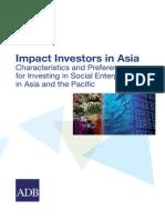 Impact Investors in Asia