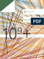 Singularity Impact Report (2014)
