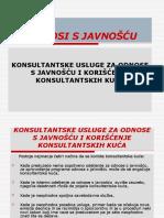 ODNOSI SA JAVNOSCU - VEZBE, PREZENTACIJA-R-2