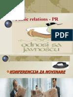 ODNOSI SA JAVNOSCU - VEZBE, PREZENTACIJA-R-5