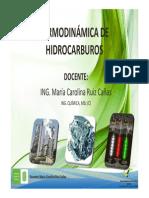Introducción a La Termodinámica de Hidrocarburos.